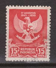 Indonesia Indonesie  64A used gestempeld 1950 Birthday proclamation Republik