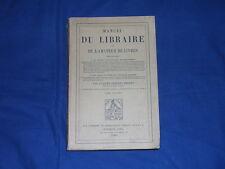 Brunet Manuel du libraire Tome Sixieme Dorbon-Ainé