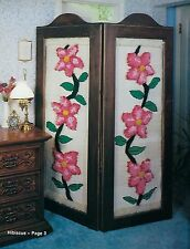 Floral Room Divider Pattern & More in Macrame for Home Decor II #907 Craft Book