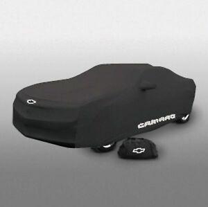 2010-2015 Chevrolet Camaro Indoor Car Dust Cover 20960814 Black w/ Camaro Logo