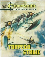 TORPEDO STRIKE,COMMANDO WAR STORIES IN PICTURES,NO.1675,WAR COMIC,1983