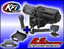 4500 lb KFI Stealth Winch Mount Combo Polaris RZR 2015+ 900 XP 1000 2014+ XP1000