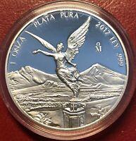 2017 1oz Silver Libertad Proof - mintage 8650  *Treasure Coin Of Mexico™*