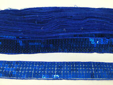 SEQUIN TRIM LACE RIBBON FOR CRAFT, COSTUME, DRESSMAKING ETC 25 MM WIDE