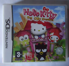 Video game nintendo ds hello kitty big city dreams