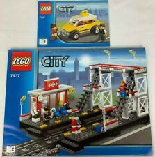 Lego City 7937 Train Station + Taxi Instruction Booklets 1 + 2