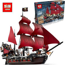 QUEEN ANNE'S REVENGE 1151pcs Pirates Of The Caribbean Pls Message for Color Box
