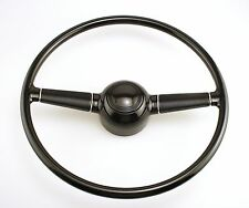 BLEM 1940 Ford Replica Steering Wheel SMOOTH Horn Button Hot Rod Rat Rod Gasser