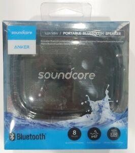 Anker Soundcore Icon Mini Portable Waterproof Bluetooth Speaker Black New
