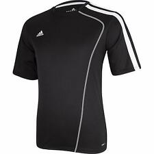Adidas Men's Sossto Soccer Jersey T-Shirt Black/White Size Small