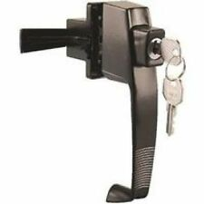 DOOR LATCH PSH BTN KYD BLACK