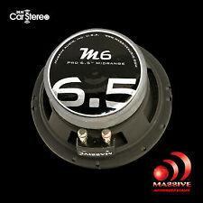 Massive Audio M6 6 Inch 300 Watts Max 140w RMS Pro Midrange Speaker for Cars and