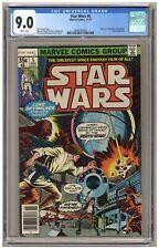 """Star Wars #5 (CGC 9.0) """"A New Hope"""" part 5; Marvel Comics; 1977; Newsstand A683"""