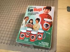 Vintage Original toy: UNUSED - FUN MUGS stained box, UNUSED made in USA