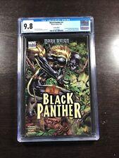 Black Panther 1 CGC 9.8 White (Marvel 4/09) Lashley Variant - 1st Shuri cover