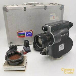 Canon Scoopic 16mm Cine Film Camera & Battery / Charger - Fully Working #XL-4613