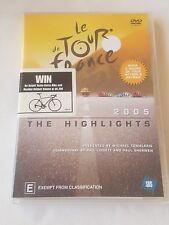 2005 Le Tour De France The Highlights Cycling DVD