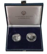 "Yugoslavia 100, 150 dinara 1990, PROOF, ""29th Chess Olympiad"""