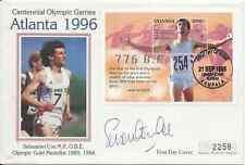 More details for olympics, sebastian coe signed uganda fdc 21.9.1995, for atlanta 1996 by mercury