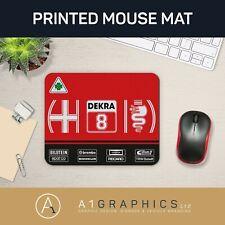 Alfa Romeo Mouse Mat Printed Mouse Pad DTM Touring Car Gaming Mat