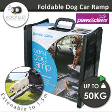 Pet Puppy Dog Foldable CAR RAMP Plastic Lightweight Bi Fold Travel Transport Car