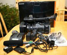 Sony FDR-AX1 Bundle Digital 4K Video Camera w/ Original box, Rode Mic, XQD Card