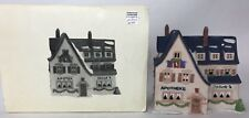 Dept 56 Alpine Village Apotek and Tabak 65404 Department 56 With Box