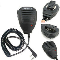 Handheld 2-Way Radio Speaker Microphone Walkie Talkie  BAOFENG UV-5R BF-888S KY