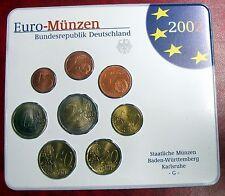 ALLEMAGNE - Coffret Euros 2002 Atelier G - BU