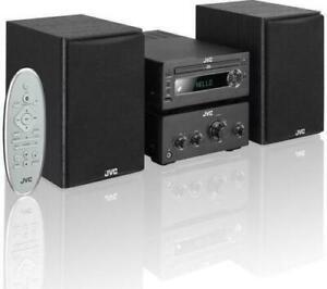JVC UX-D750 CD MP3 Mini Micro Hi-Fi DAB FM Radio With USB Bluetooth NFC AUX 100W