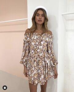 Shona joy dixie OTS mini dress size 8