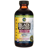 Amazing Herbs Black Seed 100% Pure Cold-Pressed Black Cumin Seed Oil