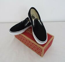 Vans Off the wall - Men's Slip on shoes - UK size 10 - Black colour - New in box