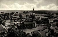 Frauenstein Osterzgebirge DDR s/w AK 1968 Blick vom Schloßturm Kirche Panorama
