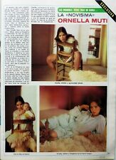 ORNELLA MUTI => 3 pages 1975 SPANISH CLIPPING !!! COUPURE DE PRESSE