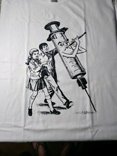 Pied piper  T-Shirt small or -medium johnny thunders william burroughs lou reed
