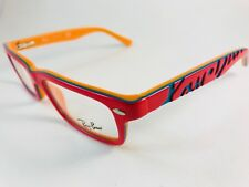 45d01cf77a4c New Authentic Ray Ban JR Eyeglasses RB 1535 3599 orange 46 16 125