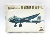 Italaerei Vintage Junkers JU 188 German Bomber Airplane Model Kit 1/72 Military