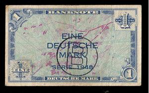 Deutschland Germany BDL 1 Mark 1948 Ro. 233 Fine+