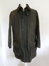 BARBOUR A200 Border 42 inch 107 cm Wax Jacket