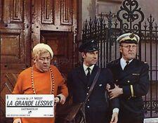 BOURVIL FRANCIS BLANCHE LA GRANDE LESSIVE MOCKY 1968 VINTAGE LOBBY CARD #9