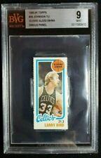 1980 Topps Larry Bird Scoring Leader Panel Rookie Card RC BGS BVG 9 Mint Celtics