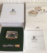 Secretos De Cristal De Swarovski Recuerdos Beauty Case Caja De Joya