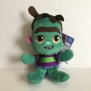 """Netflix Super Monsters Plush Frankie Mash The Monster 7"""" Playskool New with Tag"""