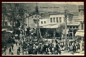 SYRIE   DAMAS  rue ali pacha  1928  (10)