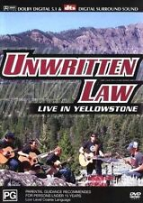 Unwritten Law - Live In Yellowstone (DVD, 2003)  LIKE NEW ... R4