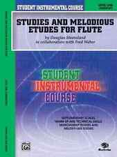 Alfred Publishing Co. 00Bic00102A Studies And Melodious Etudes Volume1 Flute