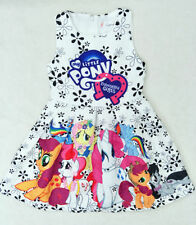 2018 New Girls My Little Pony Summer Lovely Party Birthday Holiday Tutu Dress
