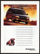 1998 SUBARU Forester Vintage Original Print AD - Black car photo Canada French
