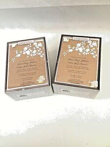 2 Boxes of 50 Gartner Studios Wedding Invitations and Response Cards